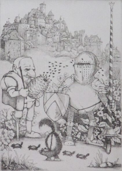 Camelot, (From the Camelot suite of 7 images)