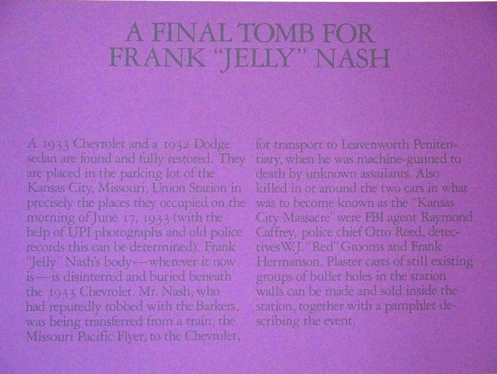 A Final Tomb for Frank Jelly Nash