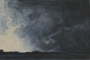Town in Storm