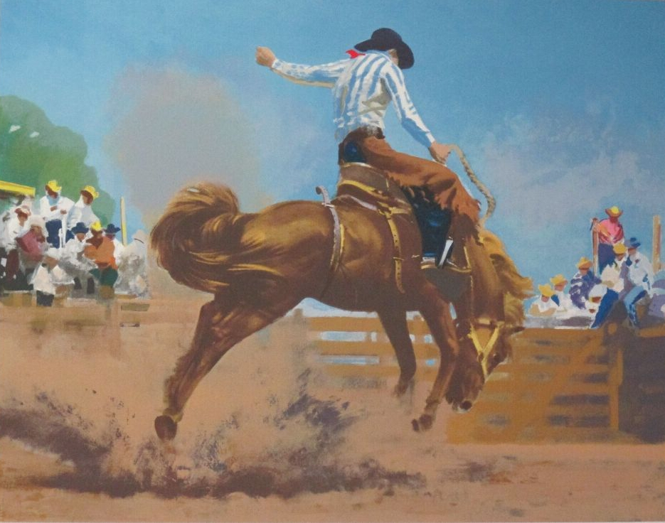 Saddle Bronco Rider
