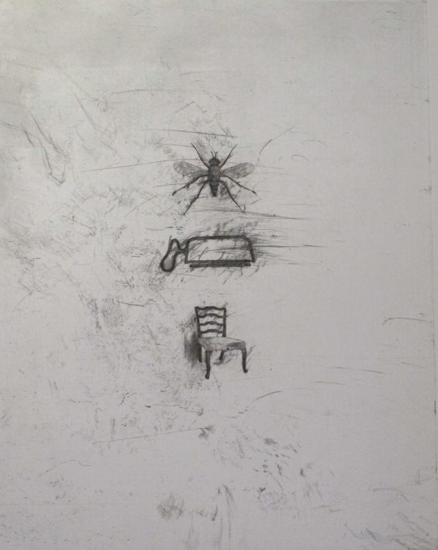 Fly, Saw and Chair
