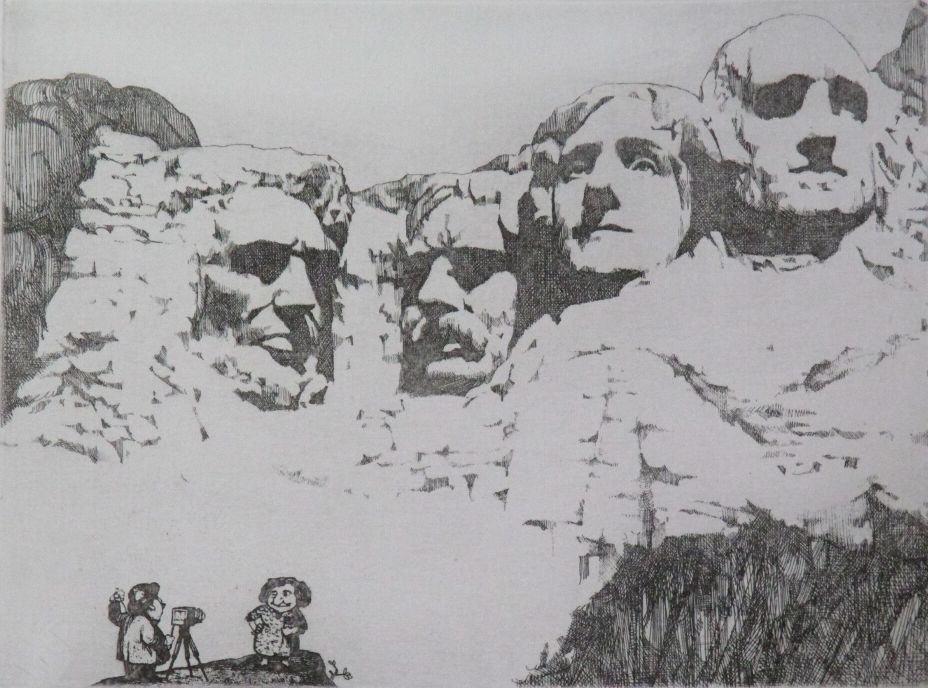 Untitled (Mount Rushmore)