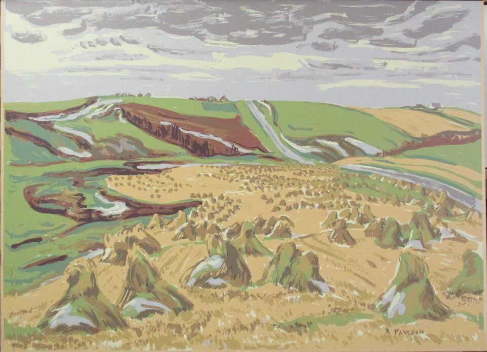 Late Harvest by Ruth Pawson at ArtFINDca